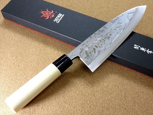 Damascus Steel vs Stainless Steel Chef's Knives - Japanese Kitchen